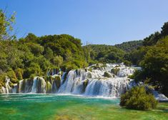 krka national park - Google Search Krka Waterfalls, Plitvice Lakes National Park, World Heritage Sites, Tours, Island, Places, Travel, Outdoor, Oceans