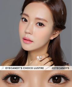 Ever want brown eyes that beautifully pop? Then the EyeCandy's Choco Lustre Circle Lenses are for you! With a 14.5mm lens diameter, these are sure to give you that dolly look you're going for. Shop now!