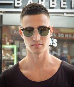 Short Textured Haircut For Men