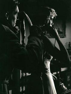 Anthony Dawson &Grace Kellyin Dial M for Murder (1954, dir. Alfred Hitchcock)