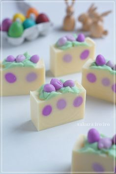 Easter egg soap | sakura iro 色  大阪・北摂・吹田 手作り石けん教室