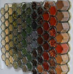 Beautiful spice rack!