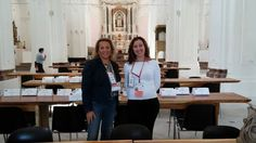 Nunzi and Brigida took part in Mitabilia, a meeting between buyers and sellers of Unesco tourism