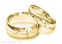www.delunademiel.es Lo ultimo en grabado de anillo de boda, el ritmo cardiaco de los novios