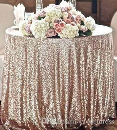 2016 New Champagne Gold Wedding Sequins Fabric Table Decorations Linens Glitter Bling Bling Prom Evening Party Dress Fabric Cheap In Stock Online with $15.58/Meter on Modeldress's Store | DHgate.com