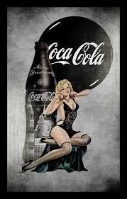 Resultado de imagen para Vintage coca cola bottle drawing