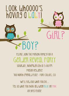 owl theme baby shower. @Brittany Horton Byrd.