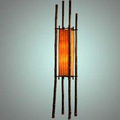 bamboo lamp small #1