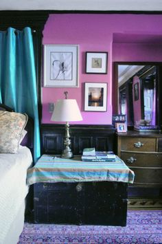 Radiant Orchid   bedroom paint