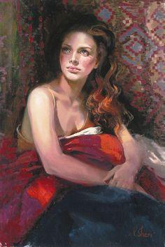 irene sheri paintings   Irene Sheri Art, Sheri Art, Shari Original Art, Dance In The Distance ...