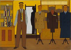 John Brack @ NGV Ian Potter Centre : the Giving and Receiving of Regard Art Works, Australian Art, Yellow Artwork, Australian Painting, Visual Art, Art, Art And Architecture, Australian Painters, John