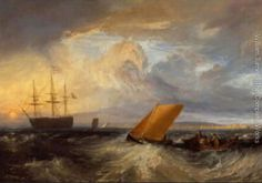 J M W Turner (I love it when the clouds look like this)