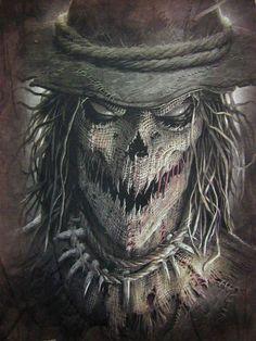Cool, creepy, Scarecrow