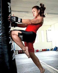 Martial arts. Hiza gueri