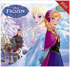 TODAY ONLY! Save 50% on Disney Frozen 2015 Wall Calendar! - TrueCouponing