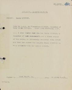 World-War -II-Adolf-Hitler-British-Girlfriend-Unity-Mitford-MI5-British-Intelligence-File-1