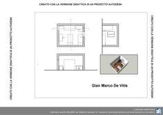 CAMERA DA LETTO-PIANTA SEZIONI RENDER | Verifica Autocad 29/11/13 ...