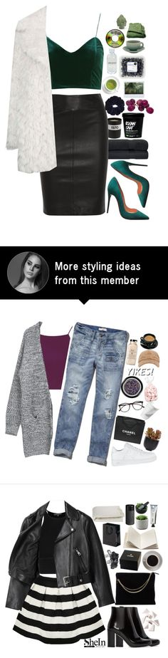 """""""thank you for 8k! (specials in d)"""" by lanadelnotyou on Polyvore featuring Bella Freud, Topshop, Joseph, Christian Louboutin, Lord & Berry, Jars, Puji and Woven Workz"""