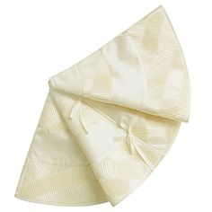 XSem Ivory Pleat Faux Silk Patchwork Christmas Tree Skirt 50 36 inch ** Be sure to check out this awesome product. (This is an affiliate link) #ChristmasTreeSkirts