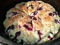 Everyday Dutch Oven: Scones, blueberry buttermilk scones