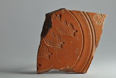 African red slip ware sherd with fish stamp 5