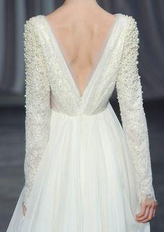 Vestido de Christian Siriano Spring Summer 2013. #casamento #vestidodenoiva #detalhe