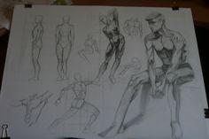 anatomy, drawing, body, anatomia, moje wyczyny