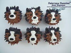Sheltie Cupcakes!!.