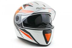 Casques Stage6 Racing MKII blanc / orange