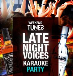 Late Night Voices - Karaoke Party | PeLipscani.RO | Ghid dedicat Centrului Vechi… Karaoke Party, Late Nights, The Voice, Eat, Partying Hard