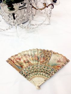 Magnificient 1700s folding fan // antique by Beautiful0Things, $1000.00