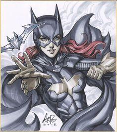 Batgirl by Artgerm | Stanley Lau *