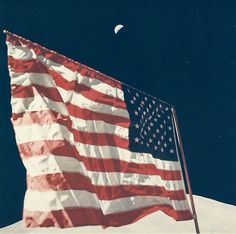 Eugene Cernan - The Moon, The Flag, The Earth, EVA 3, Apollo 17, December 1972...