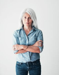 A chambray shirt. Try the denim on denim look, wear it in the summer with cute patterned shorts or in the winter with black leather pants. Can be dressed up or down, throw a statement necklace on with it. Layer it. Endless ways to mix and match it into your wardrobe.