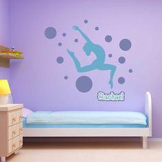 Spot Gymnastics Wall Package - Sticker Genius
