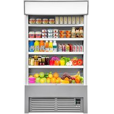 $2999.99 • Buy Open Air Refrigerated Display Case Air Curtain Merchandisers 500L Silver Beverage Refrigerator, Display Case, Silver, Glass Display Case, Display Window, Money