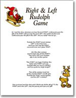 Christmas Right and Left Story/Game. by SunnysideCottageArt ...