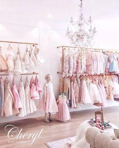 CHERYL KIDS FASHION 2016 Boutique Interior, Clothing Store Interior, Clothing Store Design, Boutique Decor, Children's Boutique, Boutique Design, Bridal Boutique, Baby Decor, Kids Decor