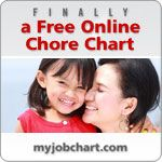 a FREE online chore chart for kids -- it's awesome!