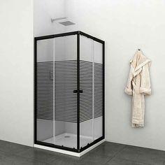 Eckdusche »Trento Black«, variabel verstellbar 80 - 90 cm, Duschkabine online kaufen | OTTO Decor, Furniture, Room, Home Decor, Room Divider, Divider, Mirror