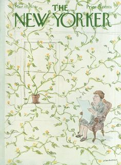 James Stevenson : Cover art for The New Yorker 2665 - 15 March 1976 The New Yorker, New Yorker Covers, Bedroom Wall Collage, Photo Wall Collage, Picture Wall, Wall Art, Room Posters, Poster Wall, Art Poster Prints