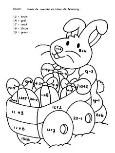 taal werkblad groep 3 lent - Google zoeken 2nd Grade Activities, Easter Activities, Spring Activities, Fun Activities For Kids, Easter Coloring Pages, Coloring Books, Homework Club, Year 1 Maths, Easter Arts And Crafts