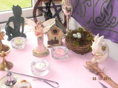 My Ostara Altar and Ritual……..