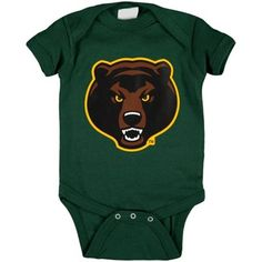 Baby's green Baylor Bears onesie // #SicEm!