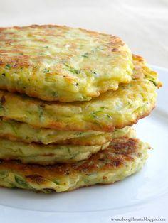 Zucchini Patties | A Homemade Living