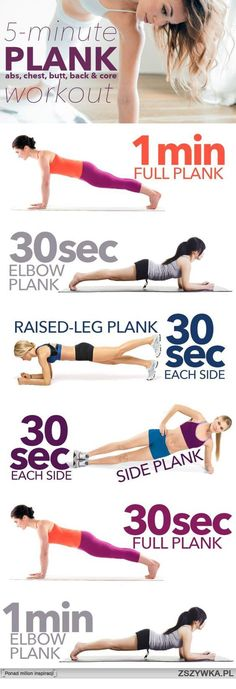 6 Core Exercises for 6-Pack Abs.