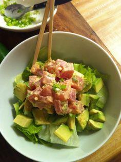 spicy tuna tartar. FTW.