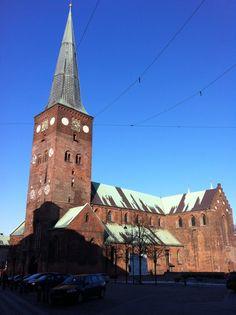 Aarhus Domkirke v Århus, Region Midtjylland