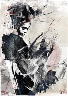 Russ Mills: Illustration — Daily Art Fixx - Art Blog: Modern Art ...
