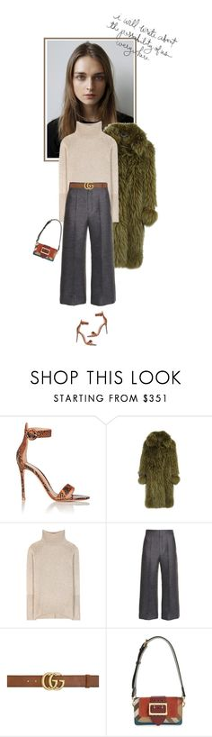 """Parisian Style"" by mariots22 ❤ liked on Polyvore featuring Gianvito Rossi, Emilio Pucci, Etro, Lanvin, Gucci and Burberry"
